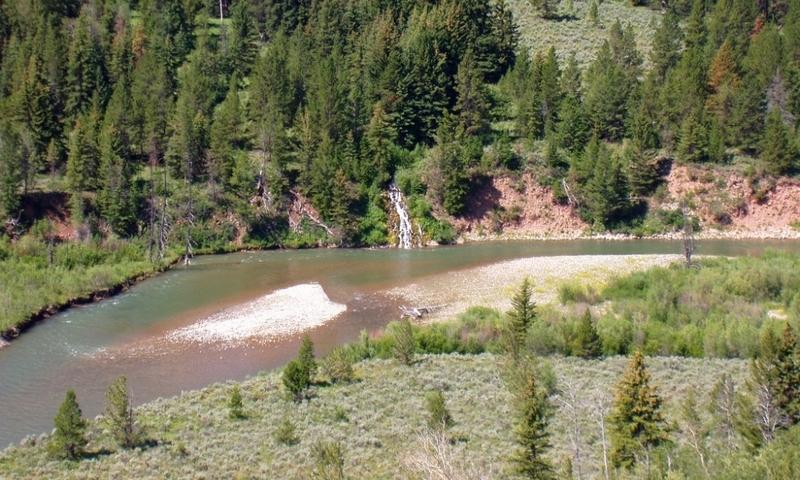 Gros Ventre River Jackson Wyoming