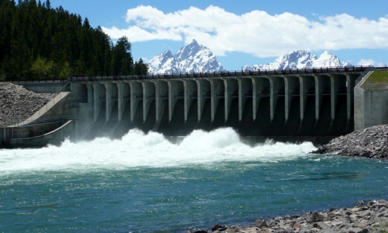 Jackson Lake Dam Grand Teton National Park