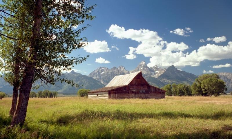 Mormon Row Wyoming Grand Teton National Park Alltrips