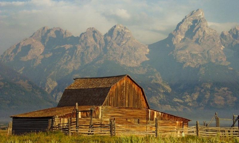 Mormon Row Grand Teton National Park Tetons