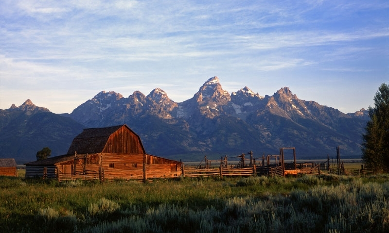 Mormon Row Wyoming Grand Teton National Park Alltrips