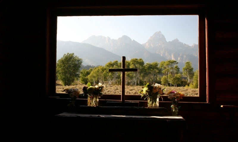 Chapel Of Transfiguration Grand Teton National Park