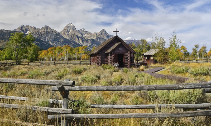 Chapel Of The Transfiguration Grand Teton National Park