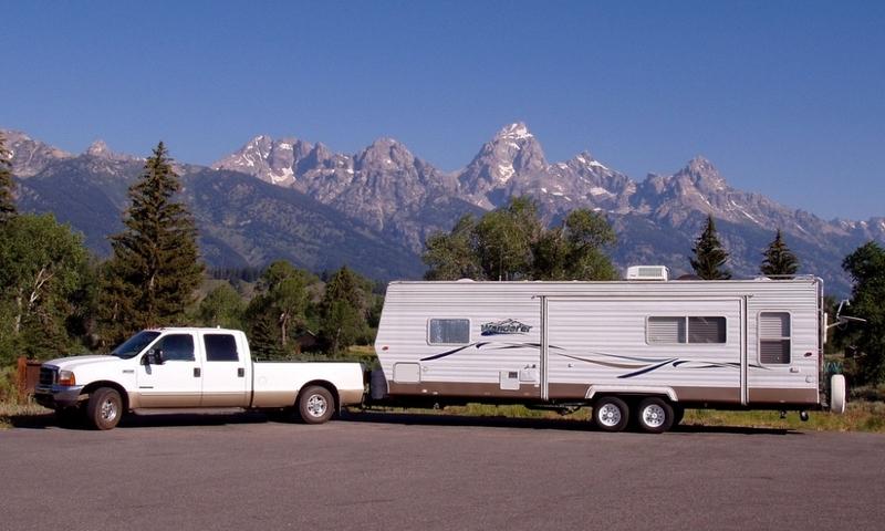 Rv Camping Grand Teton National Park