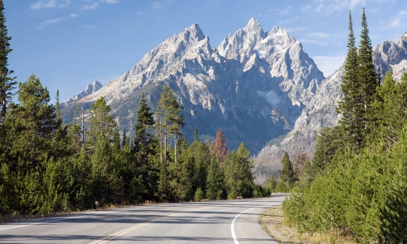 Scenic Drive Grand Teton National Park