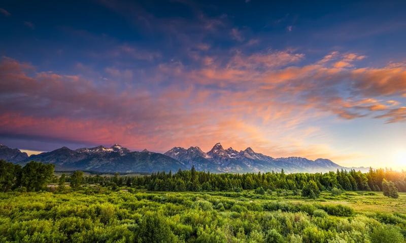 Grand Teton National Park Mountains Mountain Ranges