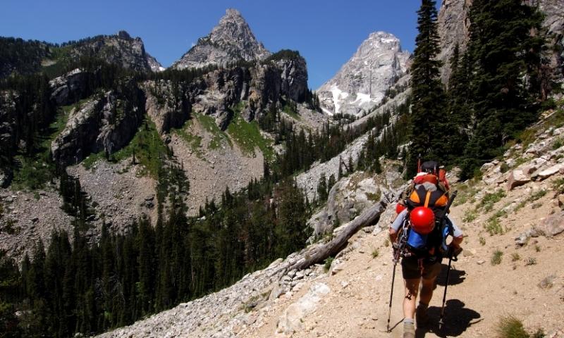 Climbing Grand Teton Mountain In Wyoming Alltrips