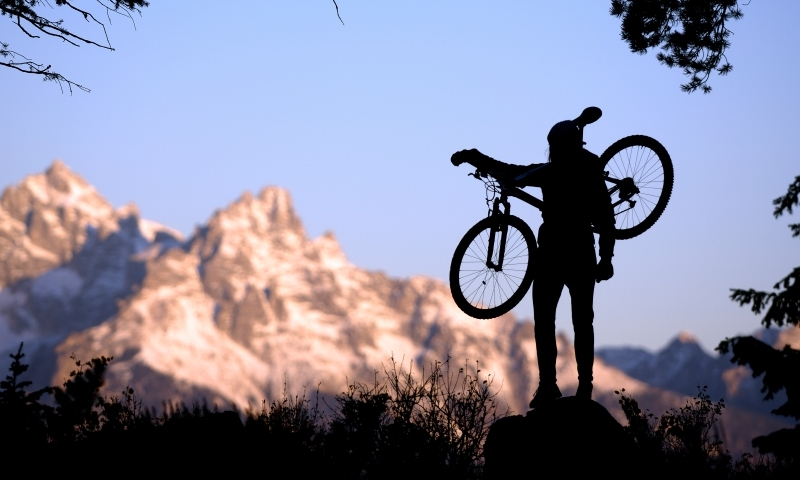 Mountain Biking Grand Teton National Park