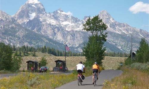 Grand Teton Mountain Biking National Park Bike Rentals