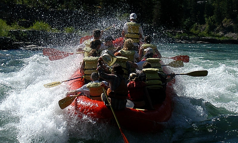 Whitewater Rafting the Snake River in Jackson Wyoming