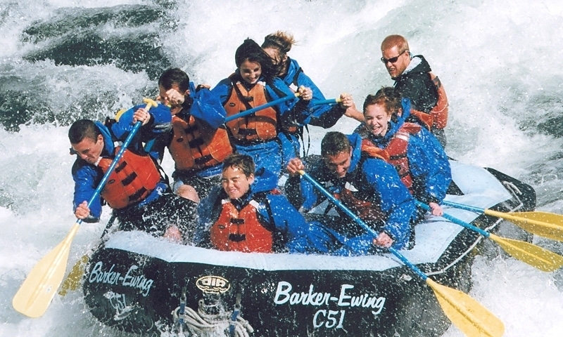 Whitewater Rafting in the Snake River Canyon