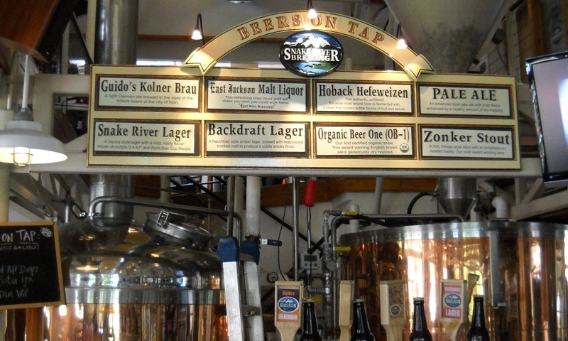 Snake River Brewing Company Jackson Hole Wyoming Beer Brew Pub Brewery