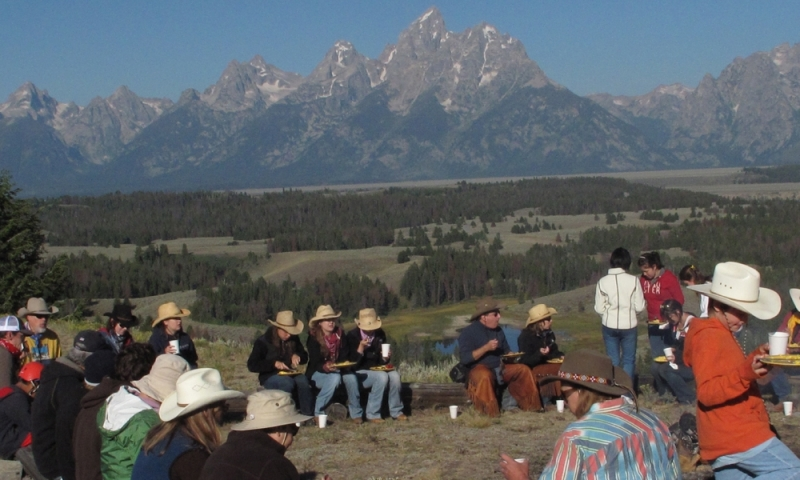 Jackson wyoming chuckwagon dinners shows alltrips for What to do in jackson wy