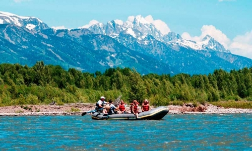 Grand Teton National Park Scenic Float Trips Smooth Water