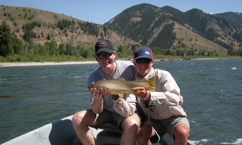 Fishing Snake River Jackson Wyoming