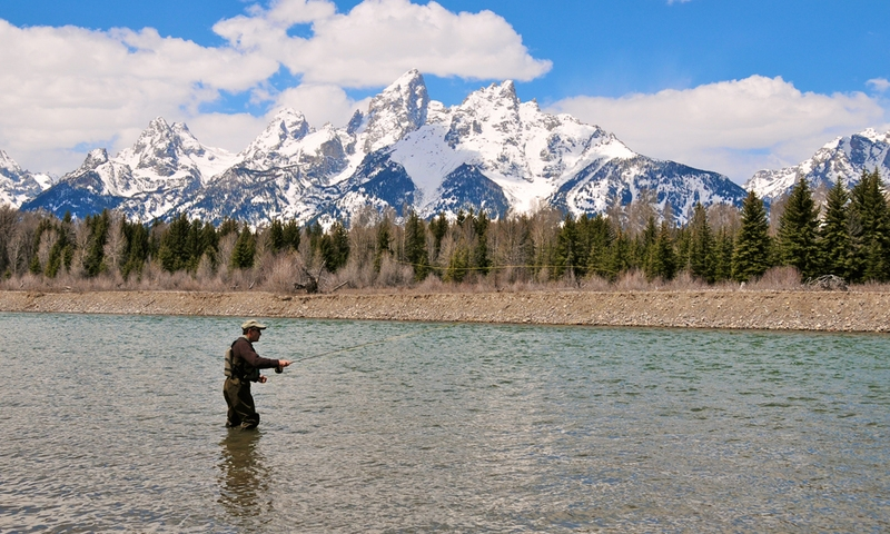 Grand teton national park fishing fly fishing alltrips for Things to do in jackson hole wyoming