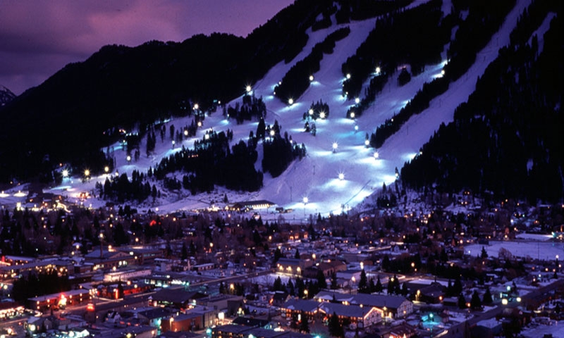 Night Skiing at Snow King Resort