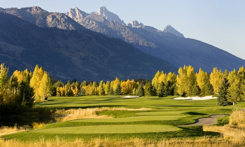 Teton Pines Country Club in Jackson Wyoming