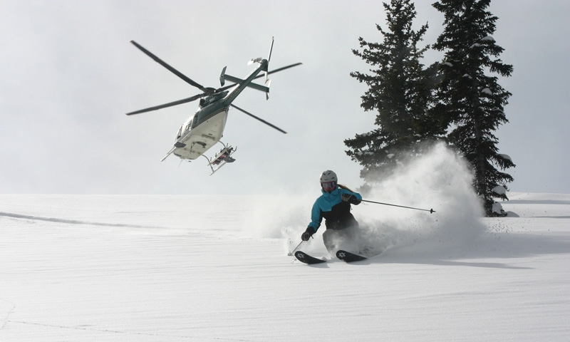 Jackson Hole Wyoming Heli Skiing