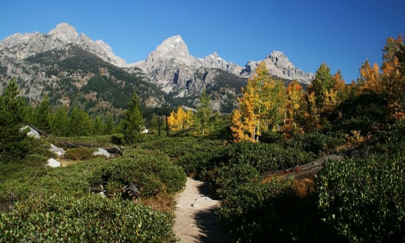 Grand Teton Hiking Trails National Park Hikes Alltrips