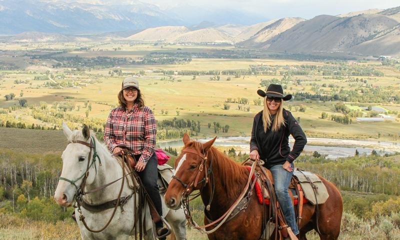 Horseback Riding Grand Teton