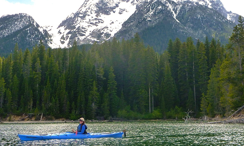 Grand Teton Kayak