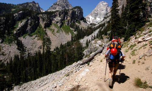 Grand Teton Rock Climbing