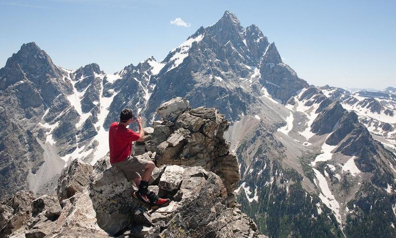 Grand Teton National Park Rock Climbing
