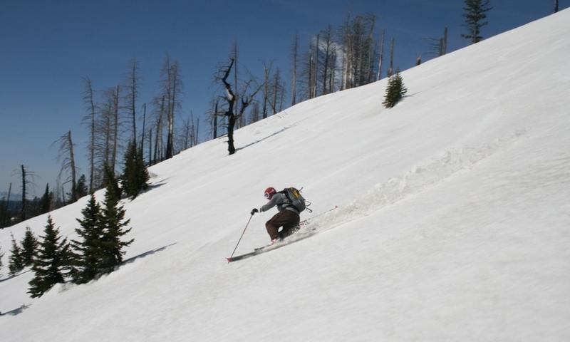 Grand Teton Wyoming Skiing