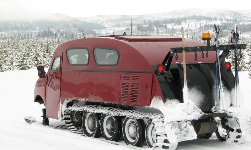 Grand Teton Snowcoach Tour