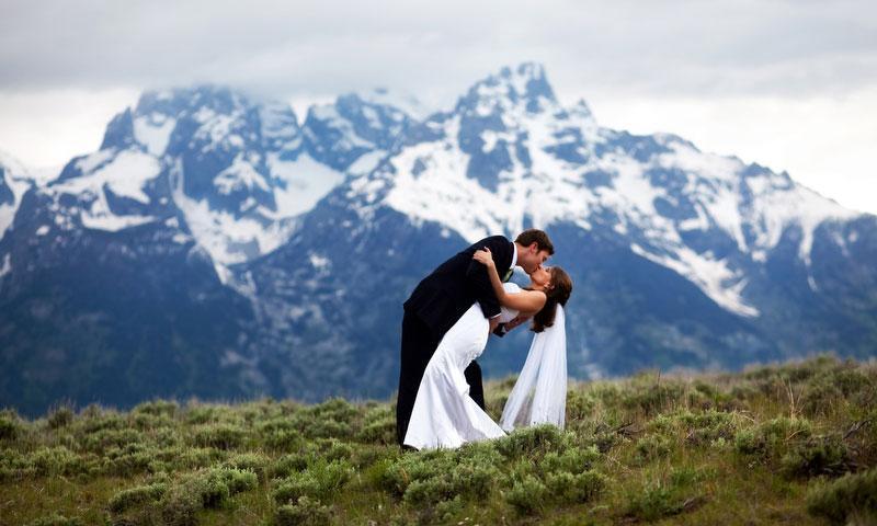Jackson Wyoming Grand Teton National Park Wedding