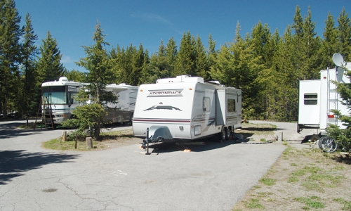 Rv Rentals Camping In The Yellowstone Region Alltrips