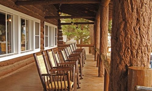 Yellowstone National Park Lodging Roosevelt Lodge