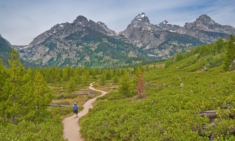 Hiking Grand Teton National Park