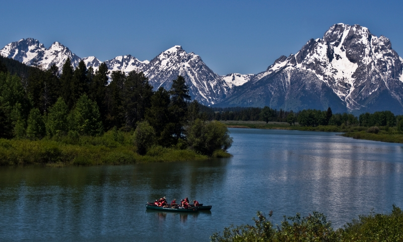 Scenic Float Trip Snake River Oxbow Bend Rafting Grand Teton National Park