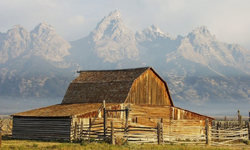 Mormon Row Grand Teton National Park Tetons