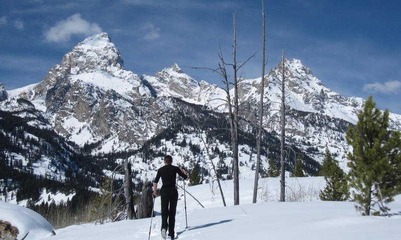 Cross Country Skiing Grand Teton Jackson Wyoming